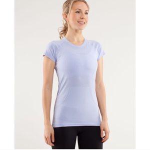 Lululemon Swiftly Shirt Sz 8 Periwinkle